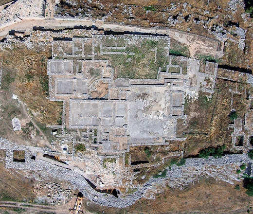 CENTRES AND MONUMENTS FROM MYCENAEAN TIMES