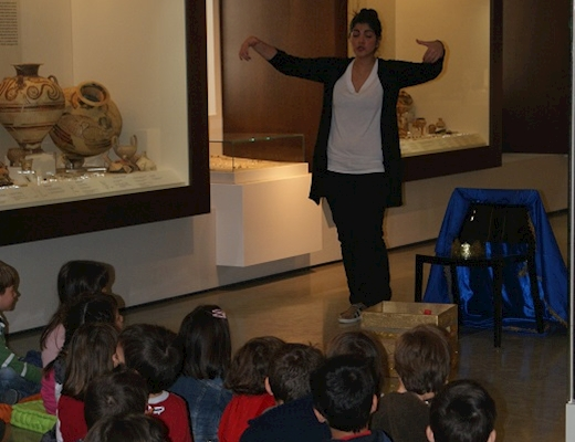 Educational programmes at the Archaeological Museum of Nafplio
