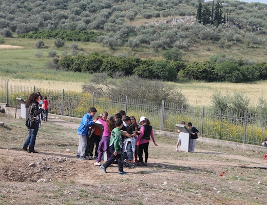 Educational programmes at the Mycenaean burial ground at Dendra
