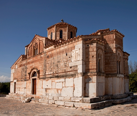 The Sacred Church of the Koimisi of the Theotokos [Dormition of the Virgin] of Bermpaka (Modern Agia Triada)