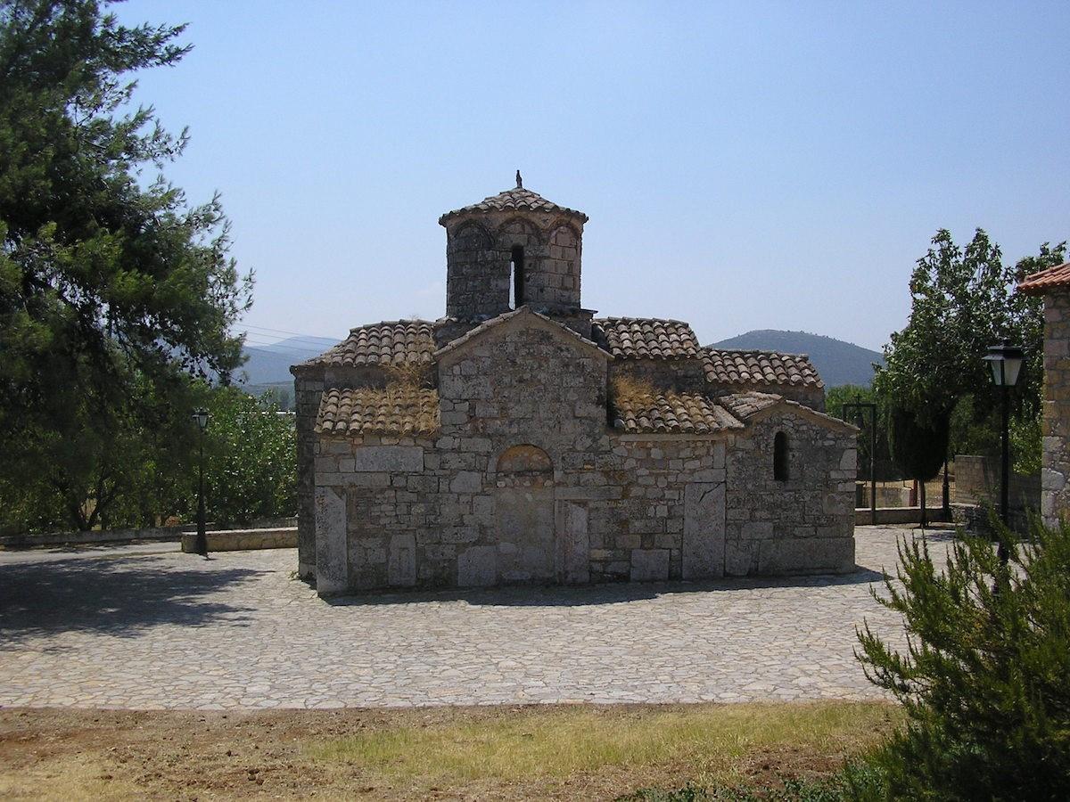 The Sacred Church of Agios Ioannis Eleimonas in Ligourio
