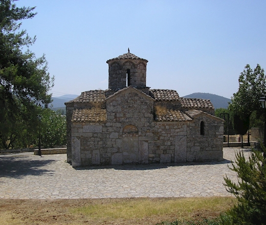 The Sacred Church of Agios Ioannis Eleimonas in Ligourio